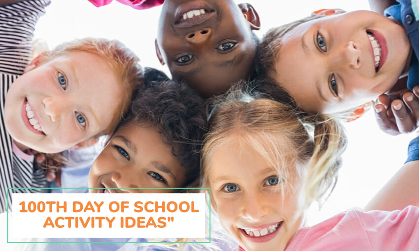 A collection of 100th day of school activity ideas.
