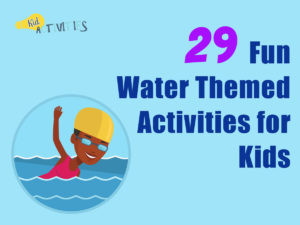 fun water themed activities for kids