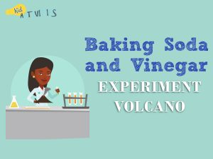 Baking Soda and Vinegar Experiment Volcano