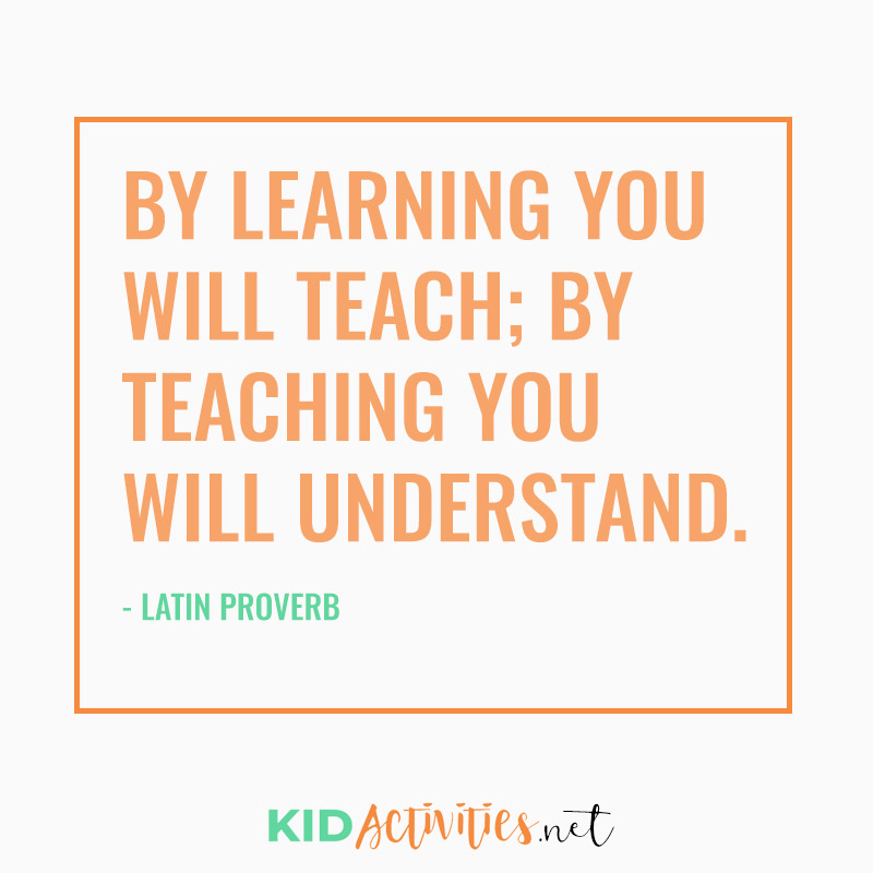 Inspirational Quotes for Teachers (By learning you will teach; by teaching you will understand. - Latin Proverb)