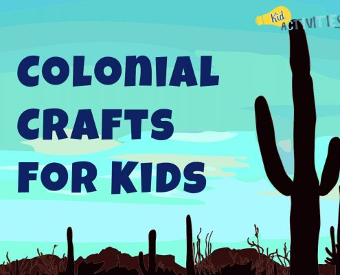 Colonial Crafts For Kids
