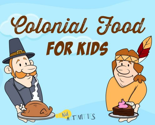Colonial Food For Kids