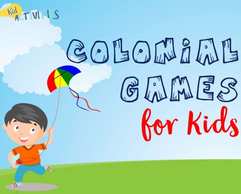 Colonial Games For Kids