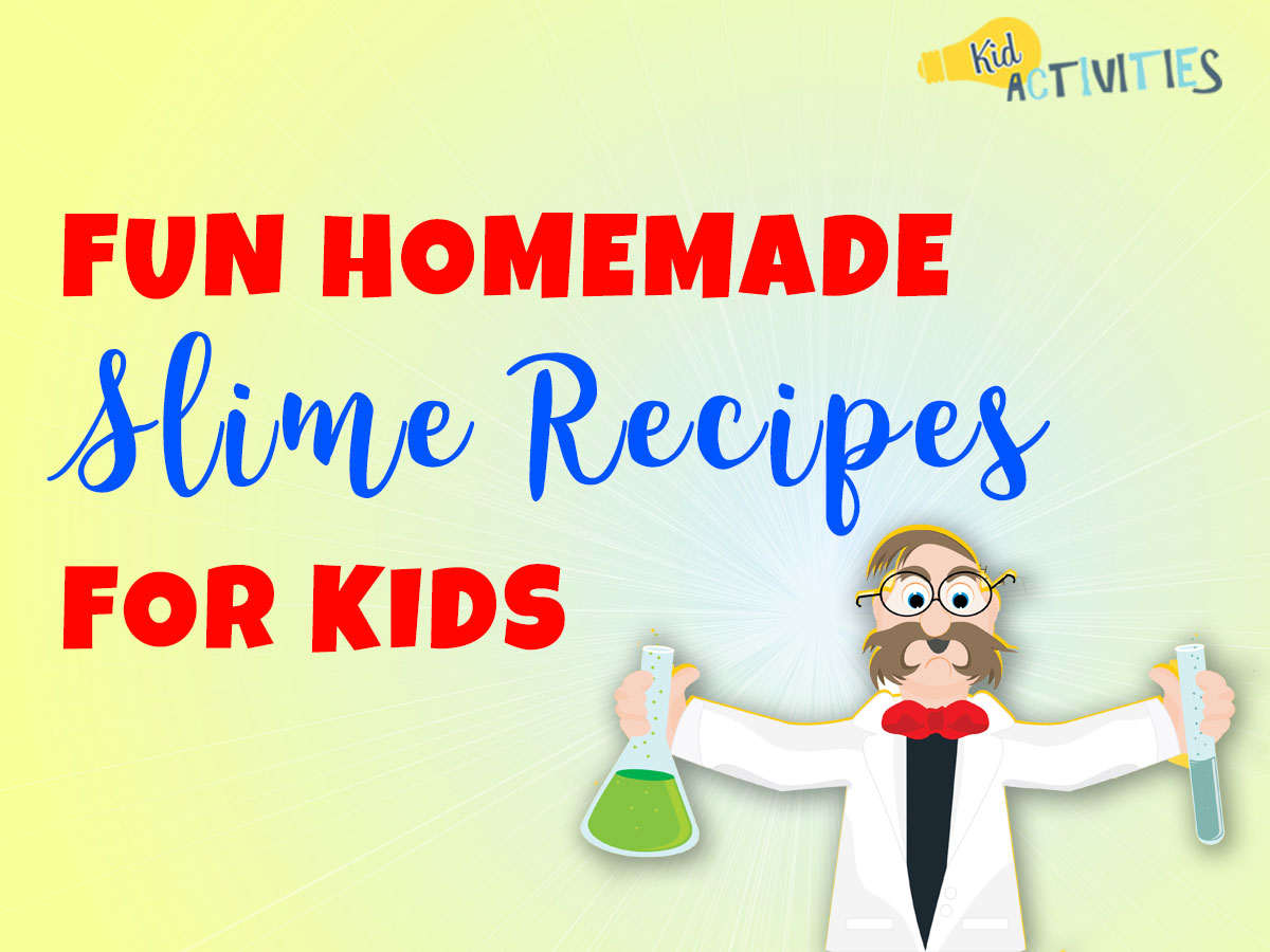Fun Homemade Slime Recipes for Kids