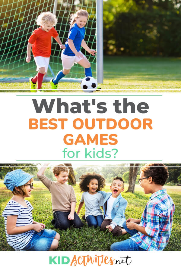 What's the best outdoor games for kids? Check out this list of 35 outdoor game ideas.