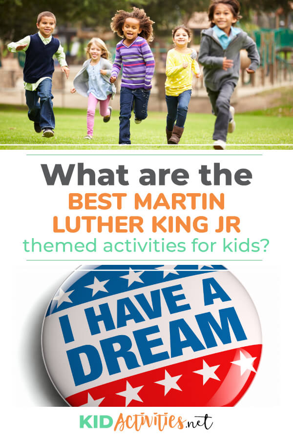 A collection of the best Martin Luther King Jr. themed activities. Great for teaching lessons on Martin Luther King Day.
