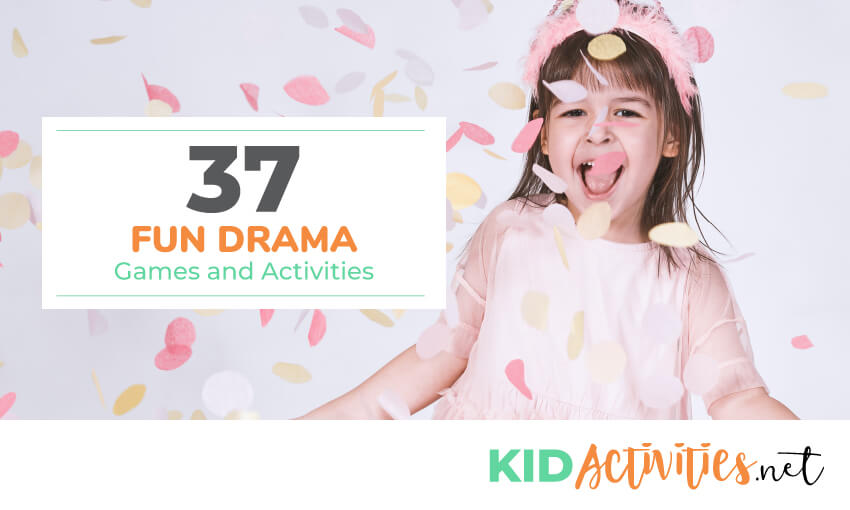 A collection of drama games and activities for kids.