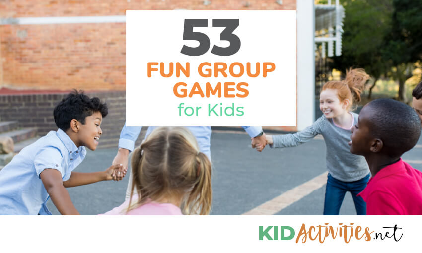 A collection of group games for kids.