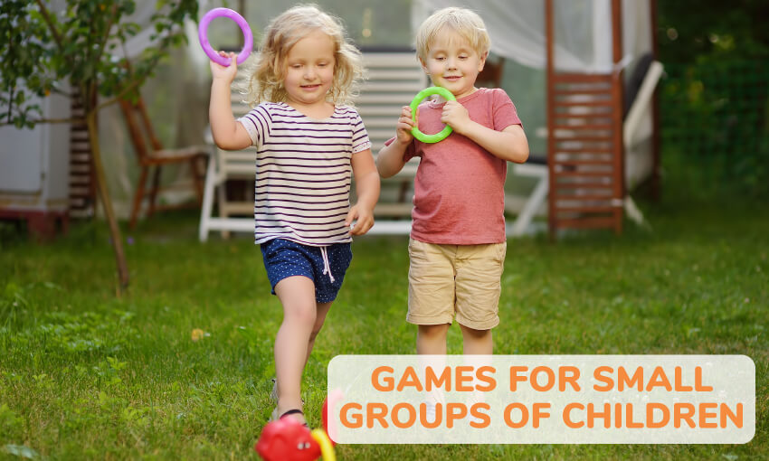 A collection of games for small groups of children.