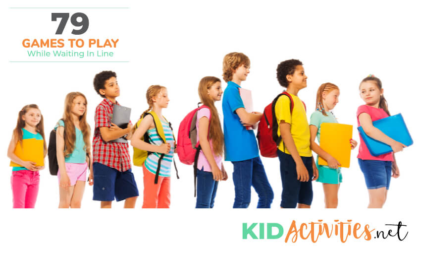 79 Games to Play While Waiting In Line - Kid Activities
