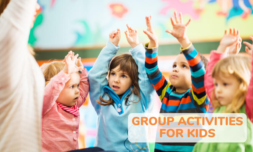 A collection of group activities for kids.