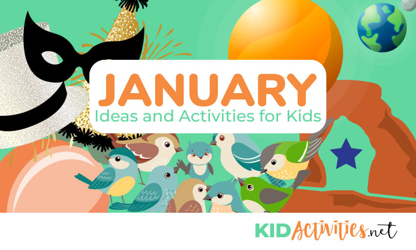 A collection of January themes and activities for the classroom.