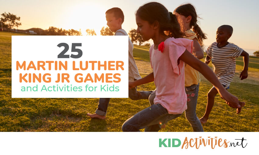 A collection of Martin Luther King Jr. themed games and activities for kids.
