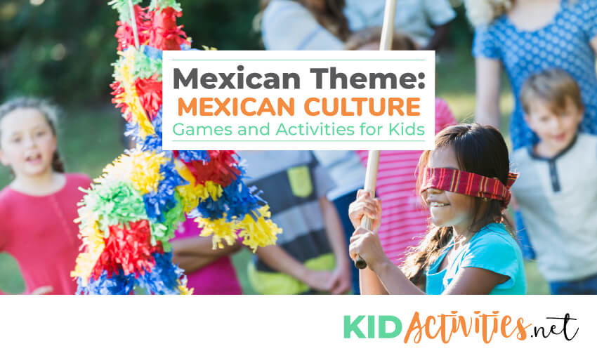 A collection of Mexican culture games and activities for kids.