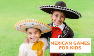 A collection of Mexican games for kids.
