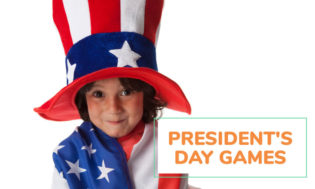 A collection of President's Day games for kids. Great for at home or in the classroom.