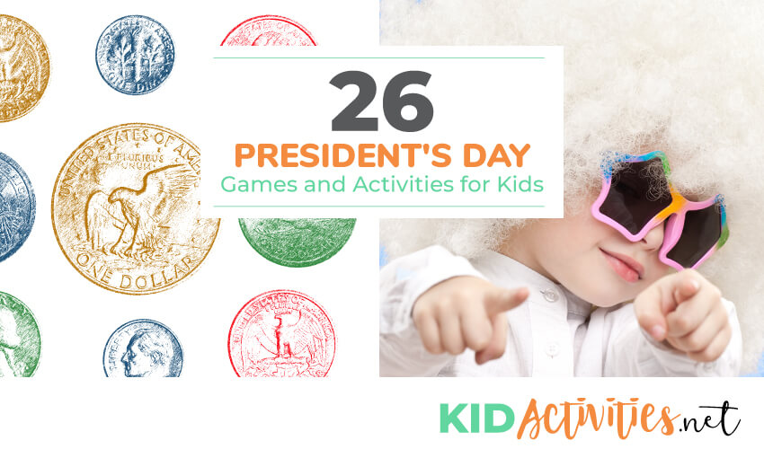 A collection of President's Day games and activities for kids. Great classroom activity ideas.
