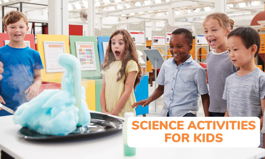 A collection of science activities for kids.
