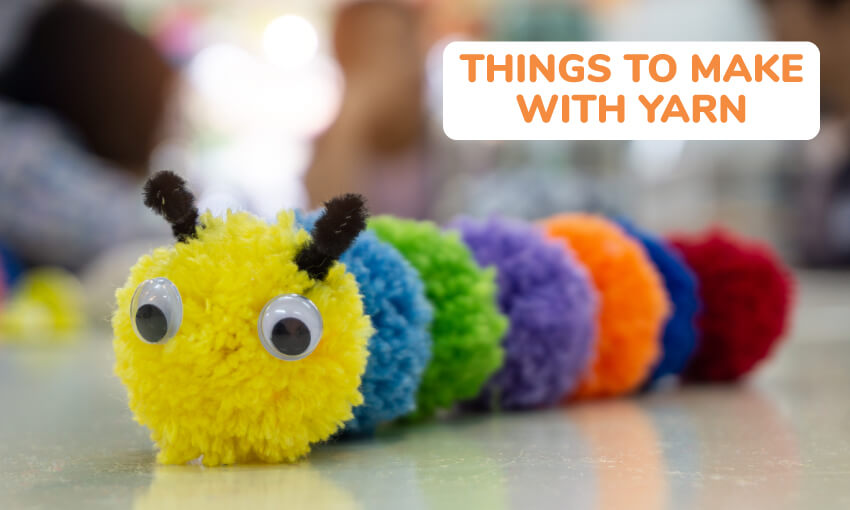 A collection of fun things to make with yarn.