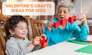A collection of Valentine's Day craft ideas for kids. Great for the classroom and Valentine's Day activities.