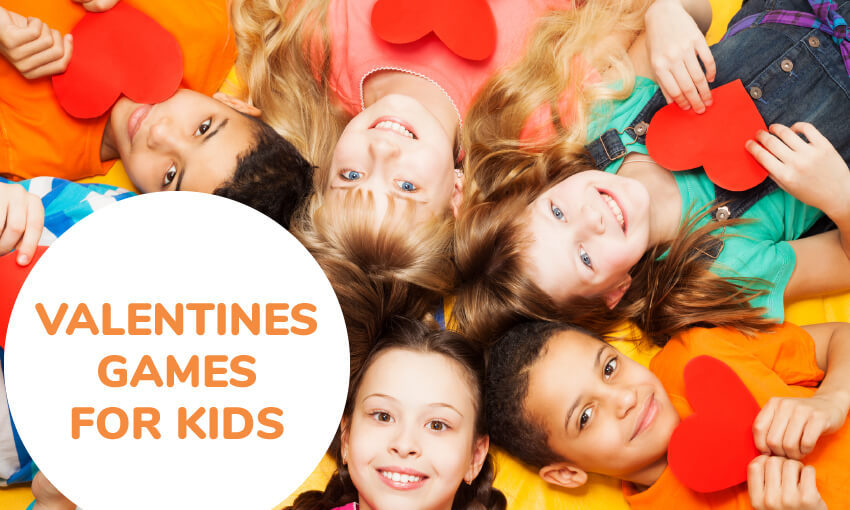 A collection of Valentine's games for kids. Great activities for the classroom.
