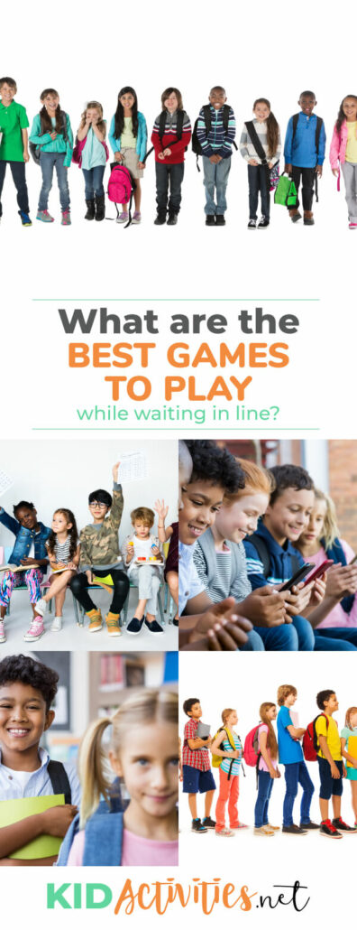 What are the best games to play while waiting in line? We have a list of 79 games and activities to make a long wait more entertaining.