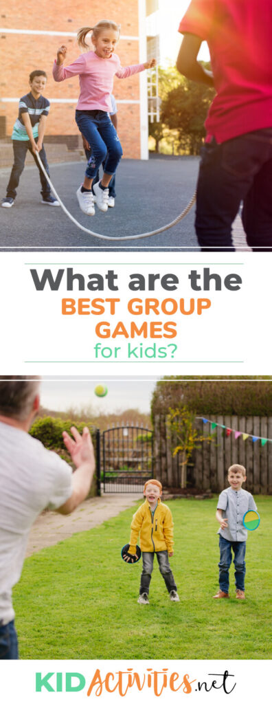 What are the best group games for kids? Find 53 games for groups of kids. Great for the classroom, recess, or gym class.