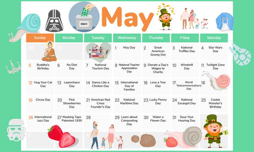 May Themes and Activities for Kids - Kid Activities