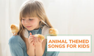 A collection of animal themed songs for kids.
