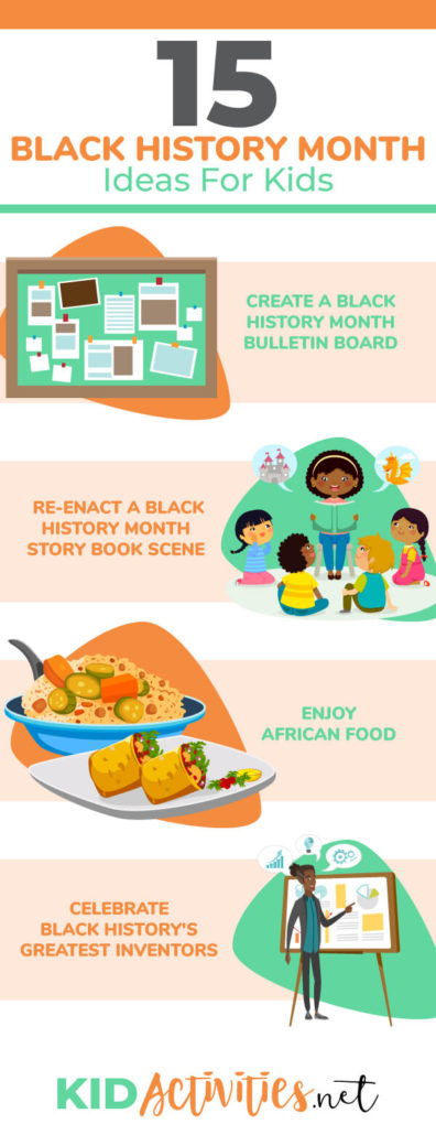 photo regarding Black History Month Quiz Printable known as 15 Black Heritage Thirty day period Suggestions and Pursuits for Youngsters Little ones