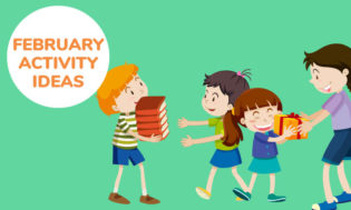 A collection of February activities for kids.