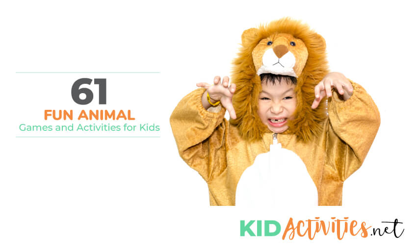 A collection of fun animal games and activities for kids.