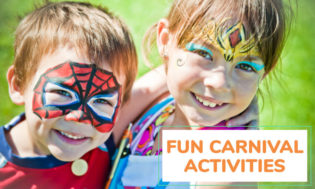 A collection of fun carnival activities for kids.