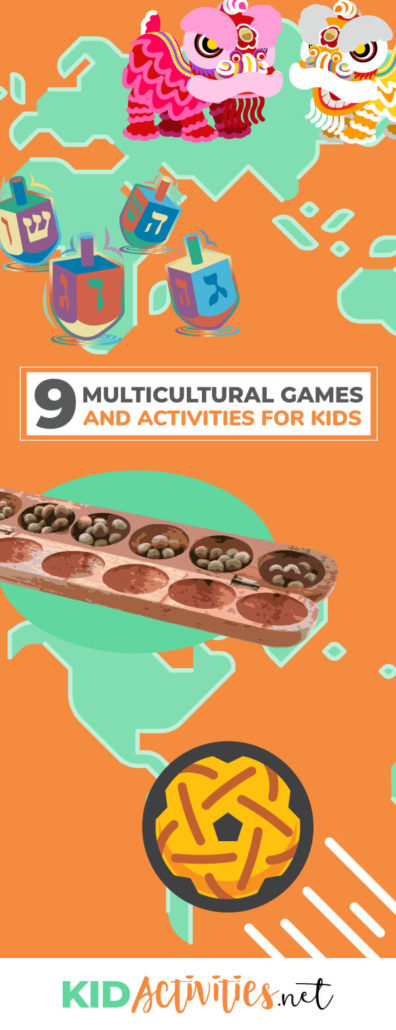 A collection of 9 fun multicultural games and activities for kids. Experience various games and activities from around the world.