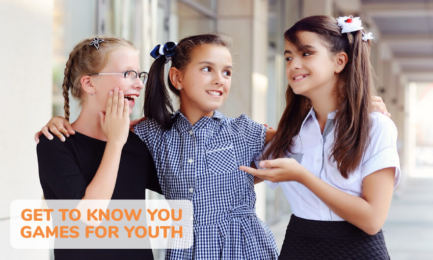 A collection of get to know you games for youth. Great for brining a group together.