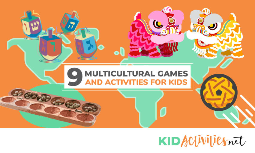A collection of multicultural games and activities for kids.
