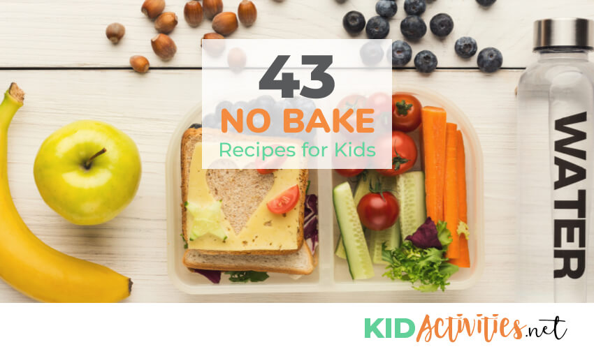 A collection of no bake recipes for kids.