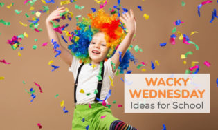 Wacky Wednesday ideas for theme day.