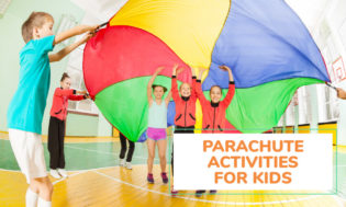 A collection of fun parachute activities for kids. Great for PE class.