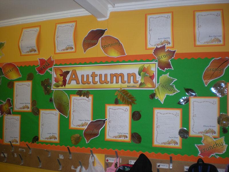 Creative Apple & Autumn Display Board Ideas - Kid Activities
