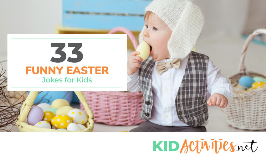 A collection of funny easter jokes for kids.