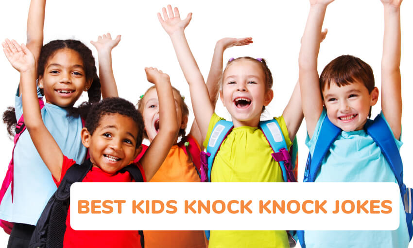 A collection of the best knock knock jokes for kids.