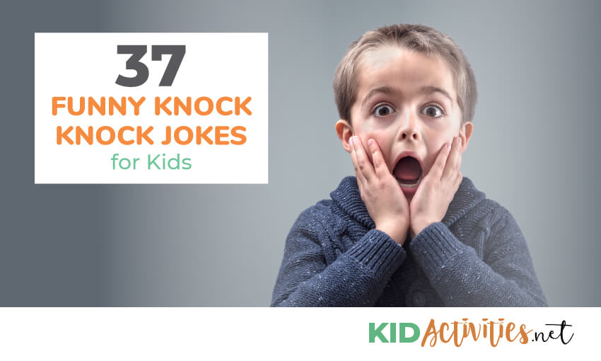 A collection of knock knock jokes for kids.
