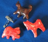 animal cracker pins