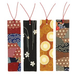 diy fabric bookmark