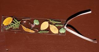 fall themed bookmark for kids