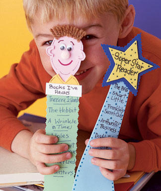 fun diy foam bookmarks