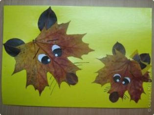 Leaf themed arts and crafts for kids. This is a great fall crafts project.