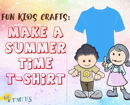 Make a Summertime T-Shirt