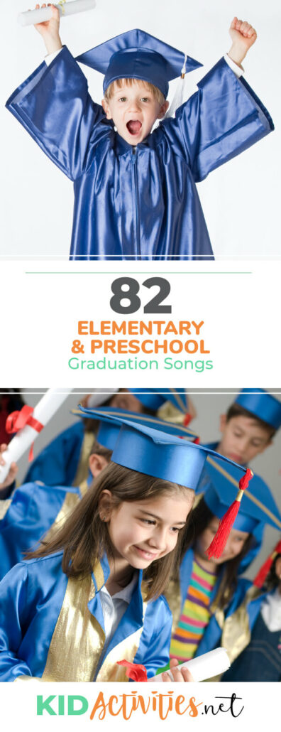 d5824d96086 A collection of graduation songs to play at your preschool or elementary  graduation ceremony.